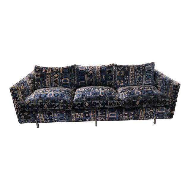 1970s Vintage Milo Baughman Sofa For Sale