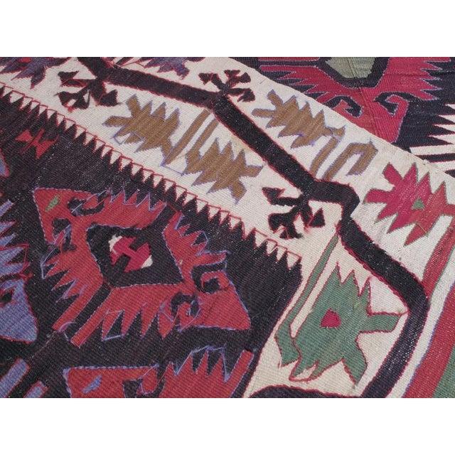 Textile Adana Kilim For Sale - Image 7 of 7