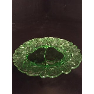 1920s Indiana Glass Company Green Depression Glass Line 501 Avocado Serving Dish Preview
