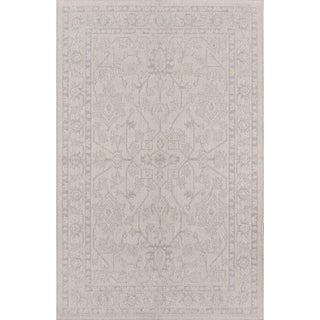 """Erin Gates Downeast Boothbay Grey Machine Made Polypropylene Area Rug 3'11"""" X 5'7"""" For Sale"""