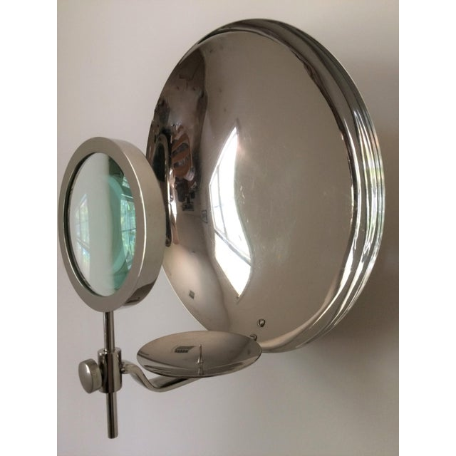 Modern Rare Early 20th Century Parabolic Reflector Candle Holder Wall Sconce For Sale - Image 3 of 9