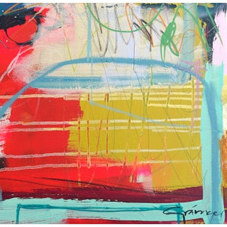 """Lesley Grainger """"Halo"""" Original Abstract Painting Preview"""