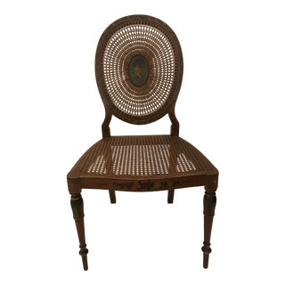 Beautiful Late 1800's English Adams Chair For Sale