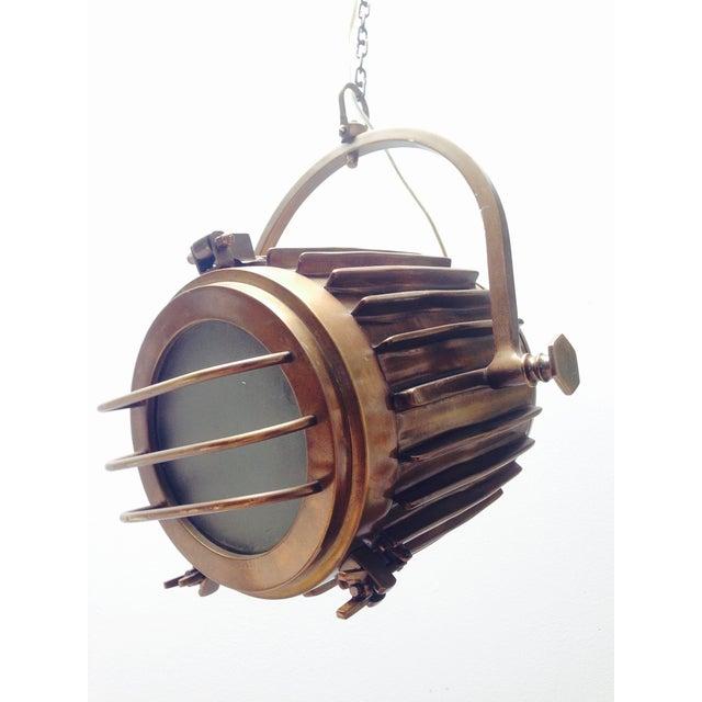Bronze Industrial/Nautical Hanging Pendants - Image 3 of 11
