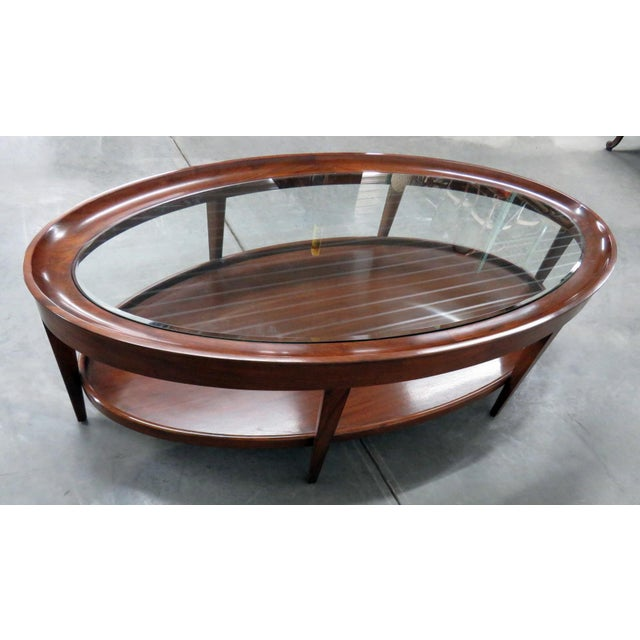 Modern Design Glass Top Coffee Table For Sale - Image 4 of 6