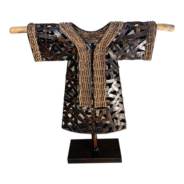 Palecek Kimono Figurine on Stand For Sale