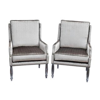 Vintage Dining Club Chairs- A Pair For Sale