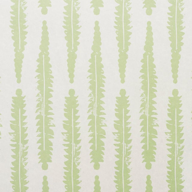 2020s Sample - Schumacher x Molly Mahon Fern Wallpaper in Sage For Sale - Image 5 of 5