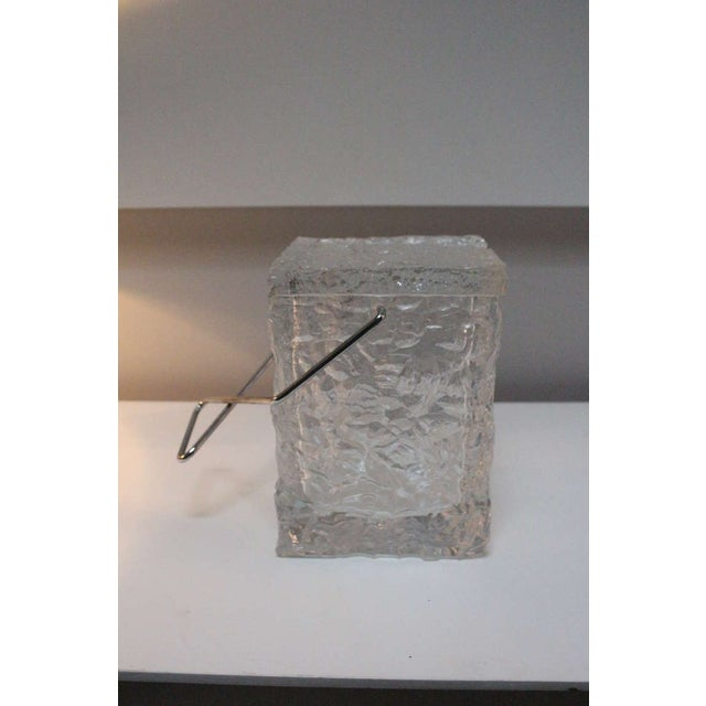 Wilardy Lucite Ice Bucket For Sale - Image 4 of 5