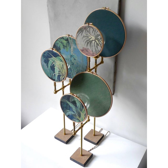 2010s Circle Blue Grey, Table Lamp, Sander Bottinga For Sale - Image 5 of 10