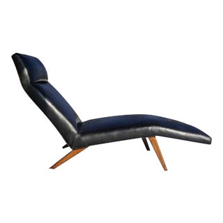 Mid-Century Danish Modern Chaise Lounge
