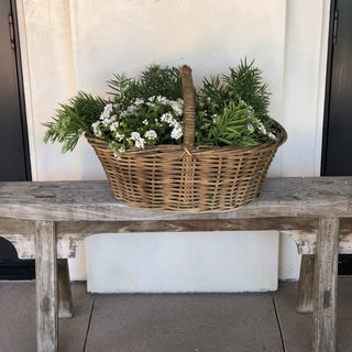 New England Willow Gathering Basket Preview