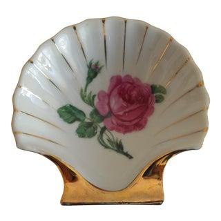 Vintage Nasco Porcelain Shell Dish
