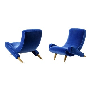 "Jean Royere Stunning Documented Pair of Lounge Chairs Model ""Varsano"" For Sale"