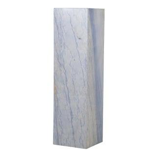 A Rare Italian Blue Marble Pedestal For Sale