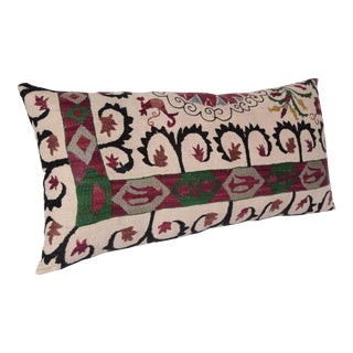 High Quality Embroidery Bedding Suzani Pillow Cover -30''x19'' Inches For Sale