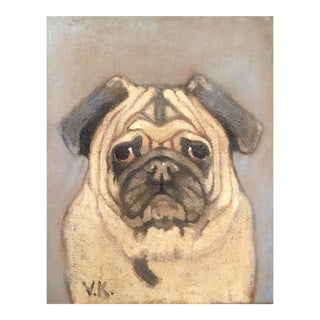"Original ""Gomez"" Portrair Oil Painting"