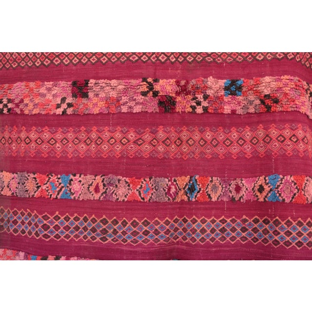 """Rug handmade by the Berber women of the Beni M'Guild tribe. Type of Rug : Beni M'Guild Dimensions : 4'11"""" x 5'8"""" feet /..."""