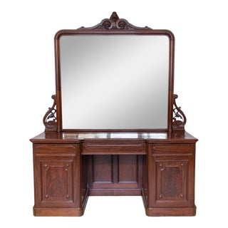 Magnificent Large Sideboard With Mirror For Sale