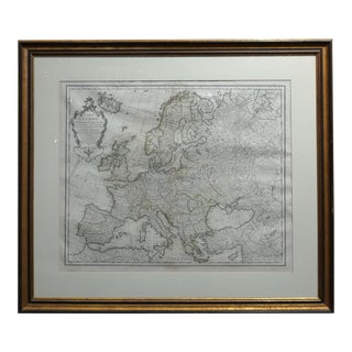 Guillaume Delisle 17th/18th Century Map of Europe For Sale