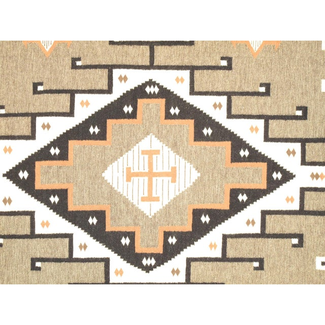 "Navajo Decorative Hand-Woven Rug- 7'10"" X 9'11"" - Image 2 of 3"