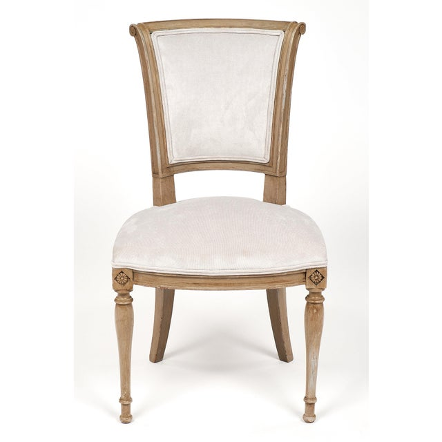 Directoire Style Dining Chairs - set of 6 For Sale - Image 4 of 10