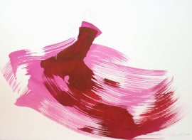 Image of Bright Pink Paintings