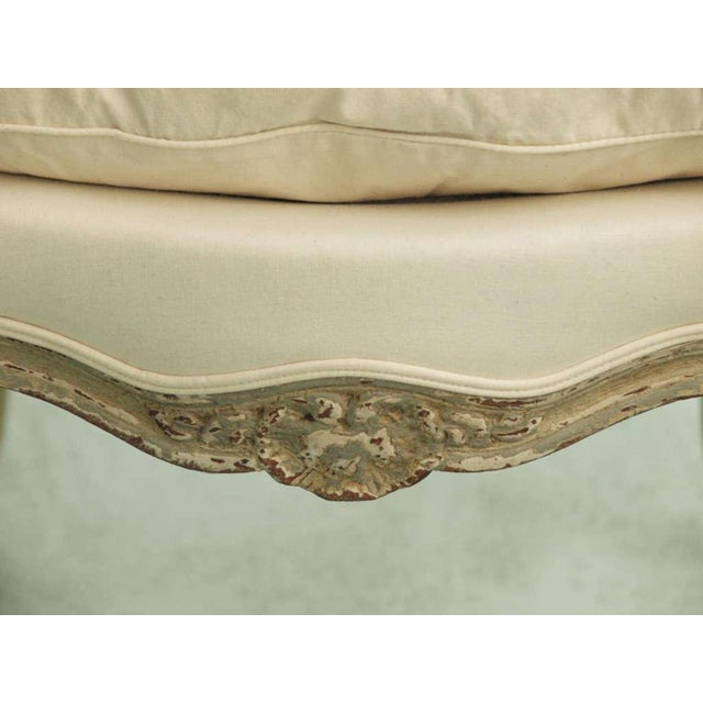 Fabric Set of Six 19th Century Louis XV Dining Chairs For Sale - Image 7 of 9