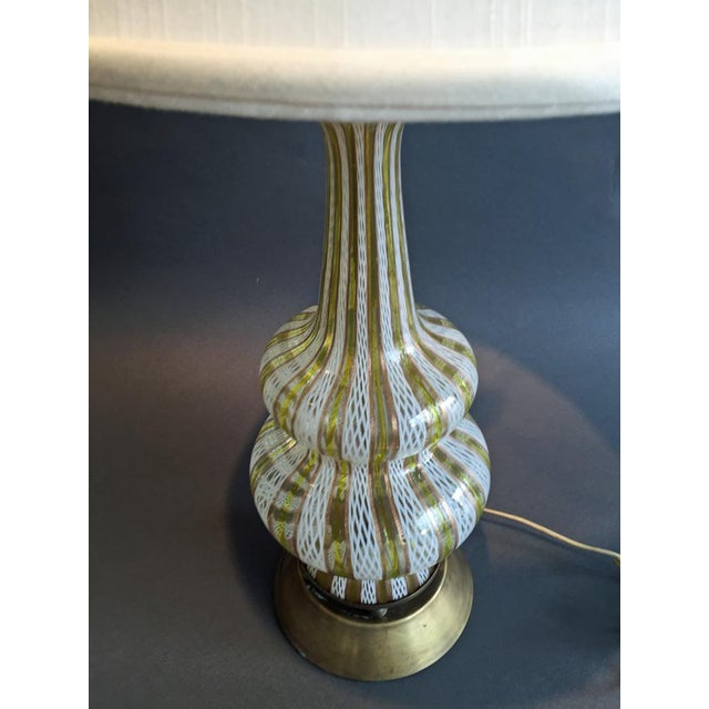 Murano Glass Table Lamp - Image 4 of 4