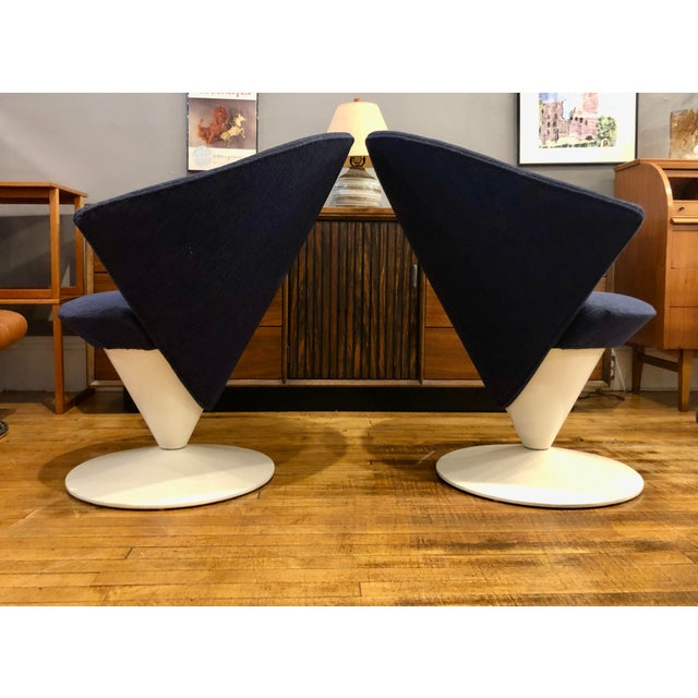 Mid Century Modern Adrian Pearsall Cone Chairs for Craft Associates - a Pair For Sale - Image 10 of 11