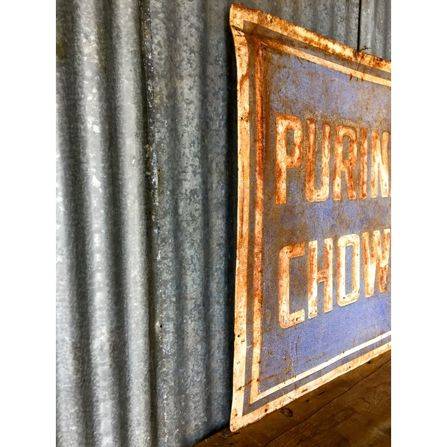 Vintage Purina Chow Sign - Image 4 of 8