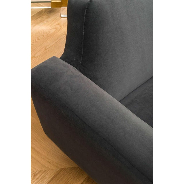 Illum Wikelso Curved Danish Sofa For Sale - Image 5 of 9