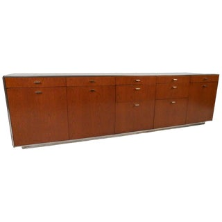 Mid-Century Modern Office Credenza by Davis Allen For Sale