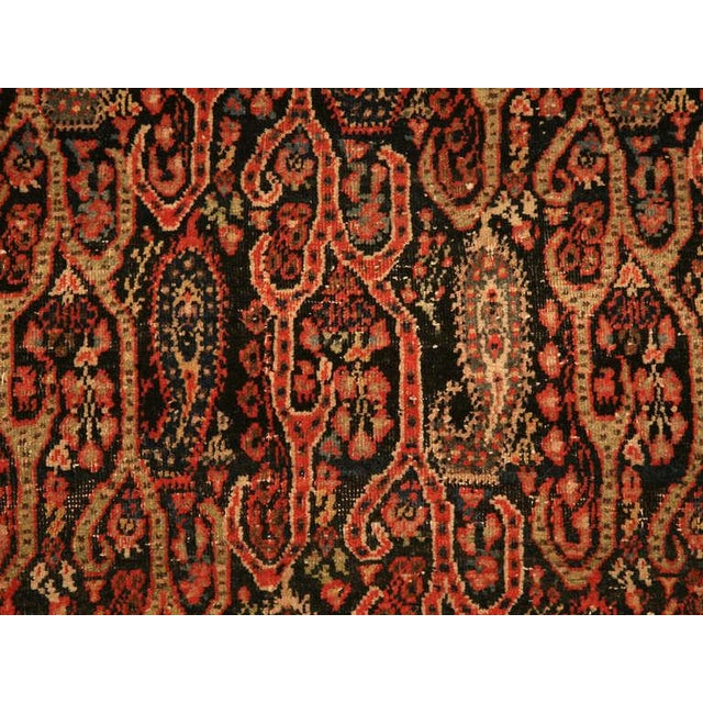 Early 20th Century Antique Persian Bidjar Rug - 4′ × 6′4″ For Sale - Image 5 of 10