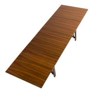 Mid Century Bruno Mathsson Maria Teak Extension Drop Leaf Dining Table For Sale