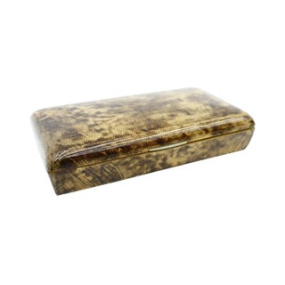Rare Goatskin Cigar Box by Aldo Tura, Italy, 1960s For Sale