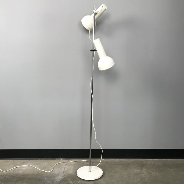 Danish Adjustable Floor Lamp For Sale - Image 11 of 11