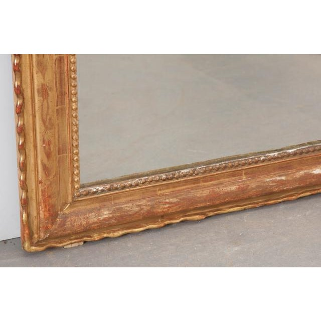 French 19th Century Gold Gilt Louis Philippe Mirror For Sale In Baton Rouge - Image 6 of 9