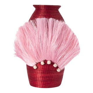 Fanned Out Small Tall Vase Radish For Sale