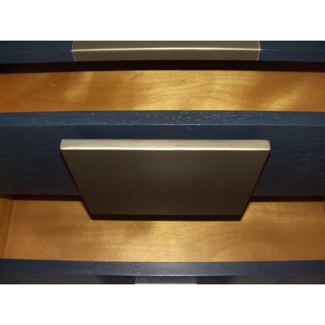 1990s Kelly Hoppen Collection for Century Furniture Storage Console For Sale - Image 5 of 11