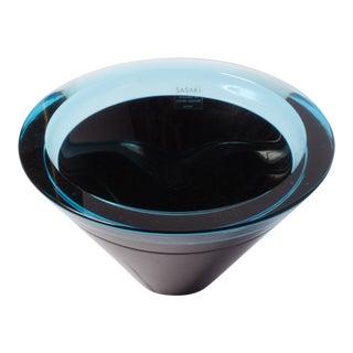 Mid-Century Studio Glass Bowl For Sale
