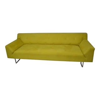 Brueton Yellow Diamante Sofa