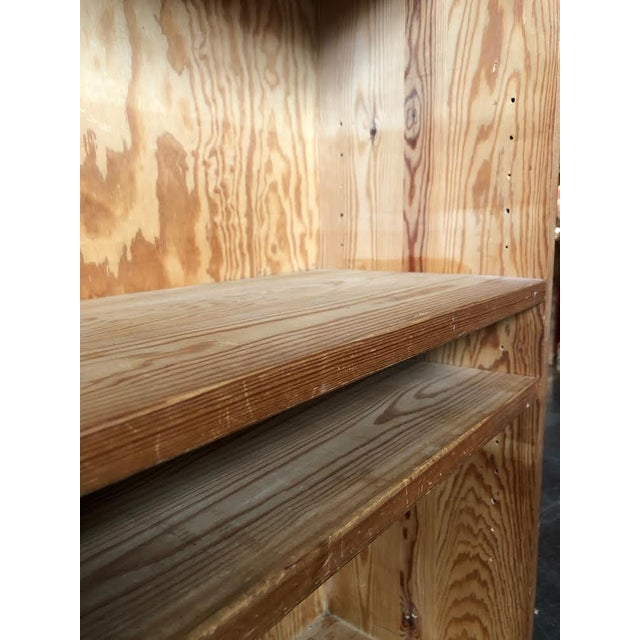 Wood French Pine Bookshelf With Adjustable Shelves For Sale - Image 7 of 9