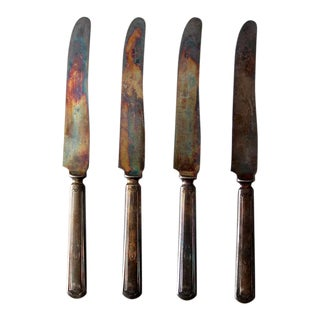 1920s Stratford Dinner Knives - Set of 4 For Sale