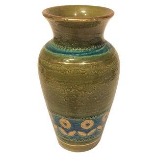 Mid Century 1960's Bitossi Ceramic Vase