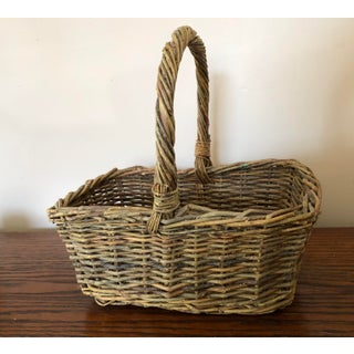 Antique Basket With Handle Preview
