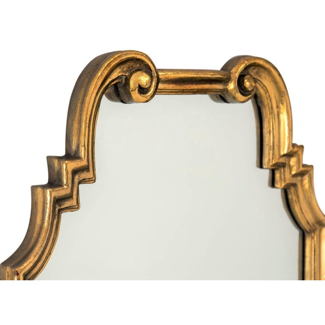 Gilded Scroll Mirror - Image 3 of 6