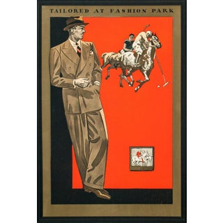 'Tailored at Fashion Park' Advertisement For Sale