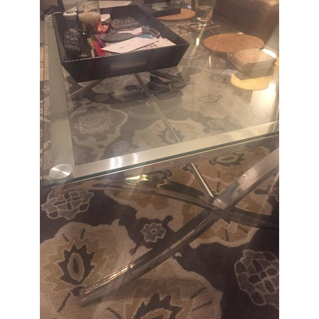 Z Gallerie Barcelona Coffee Table For Sale In San Francisco - Image 6 of 7