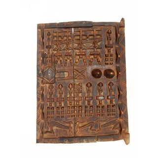 "African Dogon Granary Door 22.5"" H For Sale"